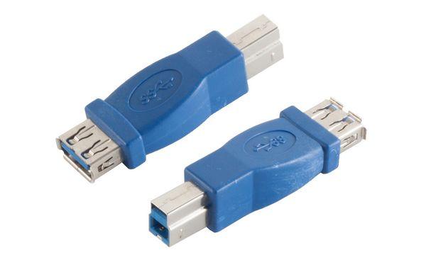 shiverpeaks BASIC-S USB 3.0 Adapter, A-Kupplung - B-Stecker