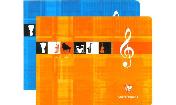 Clairefontaine Cahier de Musique, 170 x 220 mm à litali...