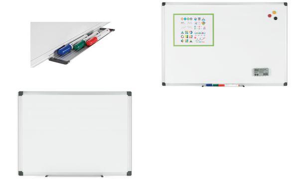 Bi-Office Weißwandtafel Maya, 600 x 450 mm, lackiert