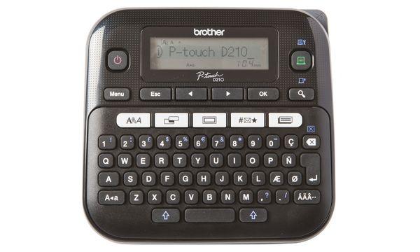 brother Tisch-Beschriftungsgerät P-touch D210