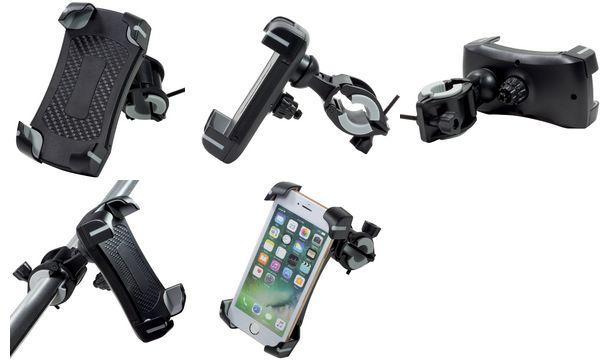 LogiLink Fahrrad-Smartphonehalterung, mit Doppelverriege...