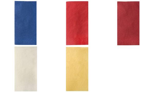 PAPSTAR Bistroservietten, 400 x 400 mm, 3-lagig, bordeaux