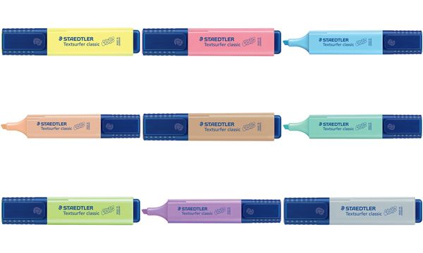 STAEDTLER Textmarker Textsurfer classic COLORS, sand