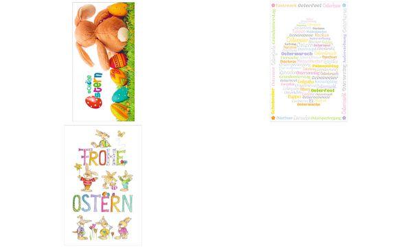 SUSY CARD Oster-Grußkarte Osterhasen