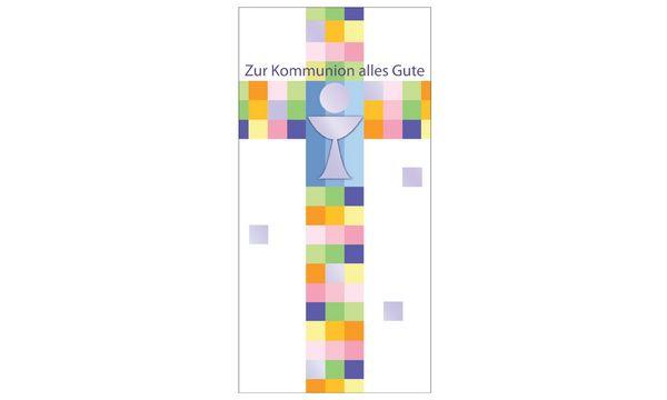SUSY CARD Kommunionskarte Kelch