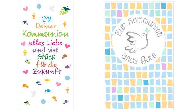 SUSY CARD Kommunion-Geldscheinkarte Taube