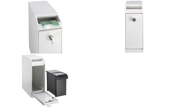 ratiotec Geldschein-Tresor POS Safe RT 650, creme-weiß