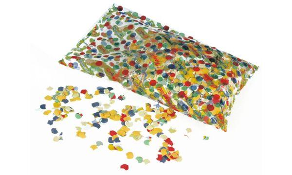 PAPSTAR Konfetti, aus farbigem Papier, Inhalt: 100 g