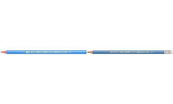 BIC Dreikant-Bleistift Evolution Triangle, Härtegrad: HB