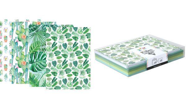 Pollen by Clairefontaine Karten-Set, Sortierung Pflanze
