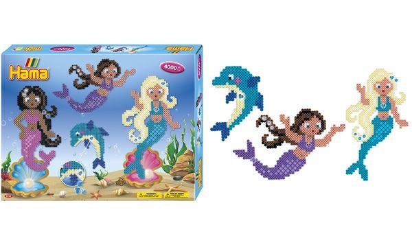 Hama Bügelperlen midi Meerjungfrauen, Geschenkpackung