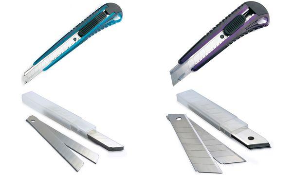 RAPESCO Cutter, Klinge: 9 mm, farbig sortiert