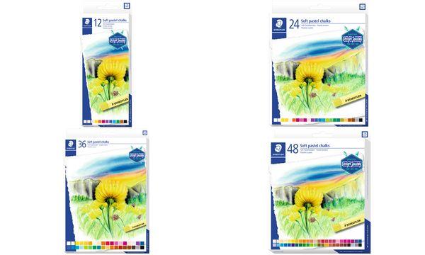 STAEDTLER Soft-Pastellkreide Design Journey, 48er Karton...