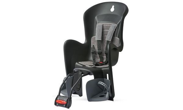 Polisport Fahrrad-Kindersitz Bilby, grau / schwarz