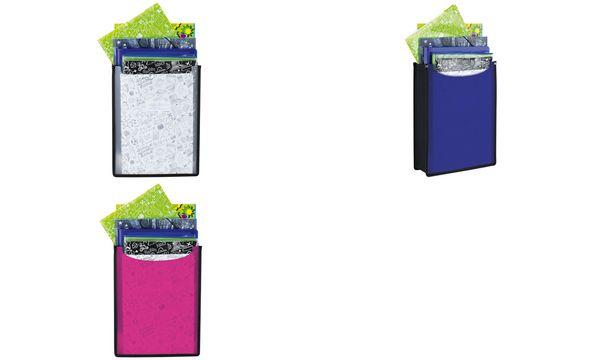 HERMA Heftbox Flexi, aus PP, A4, transluzent-dunkelblau