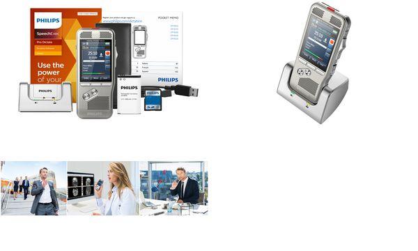 PHILIPS Diktiergerät Digital Pocket Memo DPM8000