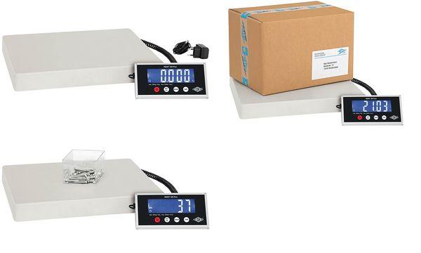 WEDO Elektronische Paketwaage Paket 100 Plus, 100 kg