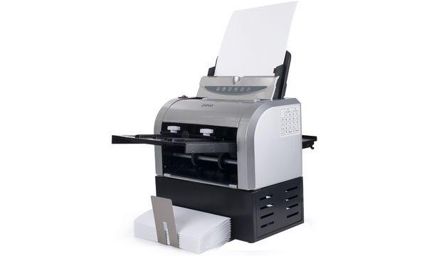 pavo elektrische Falzmaschine 8055821, grau / schwarz