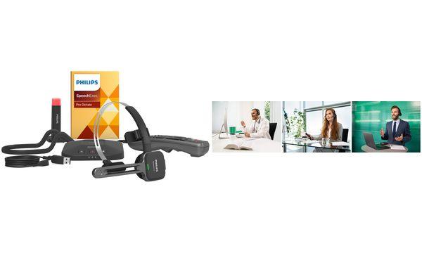 PHILIPS Diktier-Headset SpeechOne PSM6800