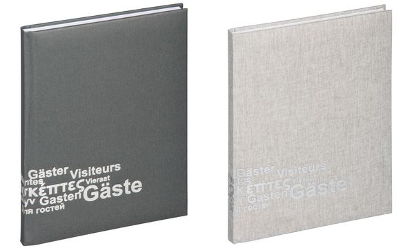 PAGNA Gästebuch Europa, (B)195 x (H)255 mm, 192 Blatt, b...
