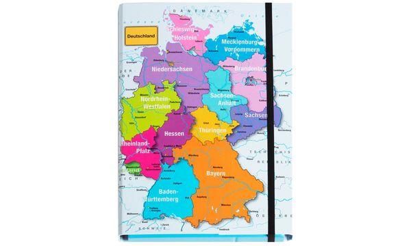PAGNA Heftbox Deutschland, DIN A4, Rückenbreite: 40 mm