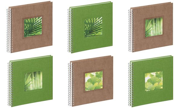 PAGNA Foto-Spiralalbum Nature Palm, Maße: (B)255 x (H)25...