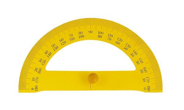Wonday Tafel-Halbkreis-Winkelmesser, 180 Grad, magnethaf...
