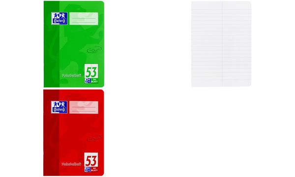 Oxford Vokabelheft TOUCH, DIN A5, 2 Spalten, grün