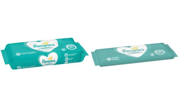 Pampers Feuchttücher Sensitive, Travelpack