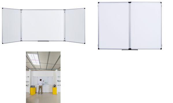 Bi-Office Klapptafel Trio Maya, emailliert, 900 x 600 mm
