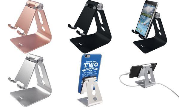 helit Smartphone-Ständer the lite stand, silber