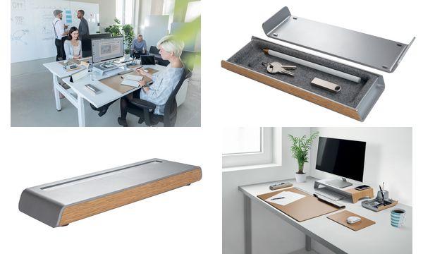 sigel Stifteschale smartstyle, im Metallic-Holz-Look