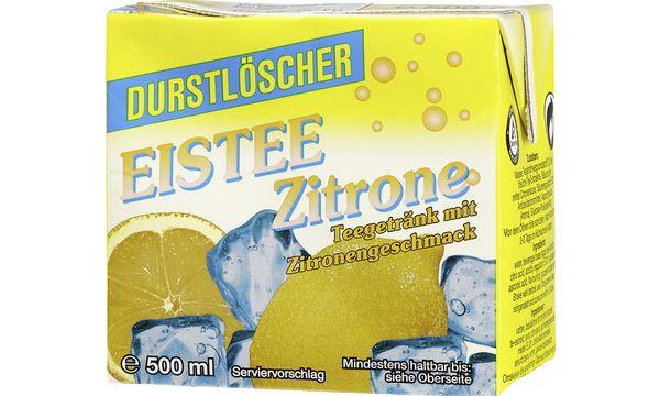 #12xDurstlöscher Erfrischungsgetränk Eistee Zitronen-Ges...