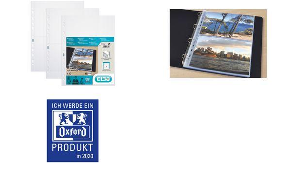 Oxford Foto-Prospekthülle, DIN A4 Photo, PP, glasklar