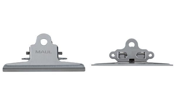 #2xMAUL Montageklemmer, (B)147 mm, Edelstahl