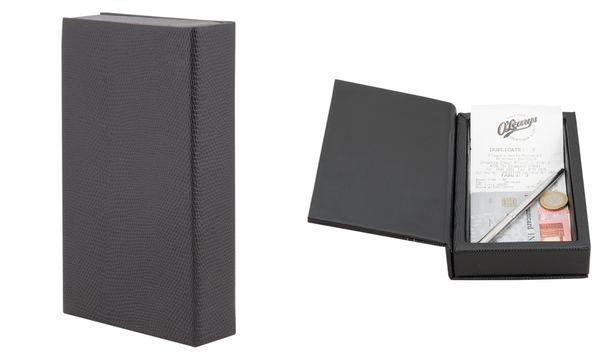 Securit Rechnungsmappenbox TRENDY, schwarz