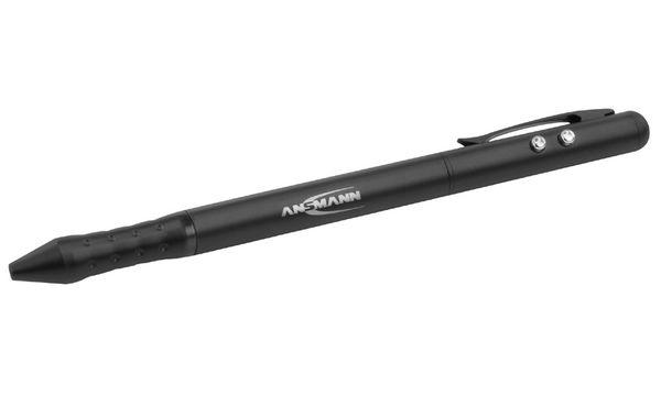ANSMANN 4in1 Laserpointer mit integriertem PDA-Stift