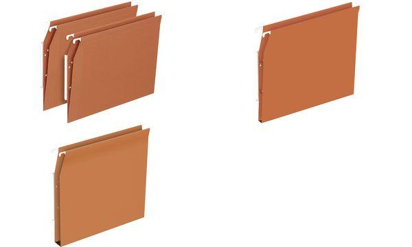 ELBA Dossiers suspendus DEFI FLEX, pour armoire, fond 15 mm
