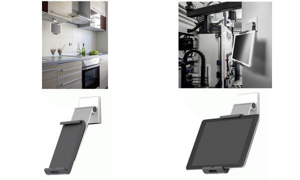 DURABLE Tablet-Wandhalterung TABLET HOLDER WALL PRO