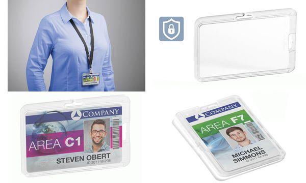 DURABLE Kartenhalter PERMANENT, für 1 Karte