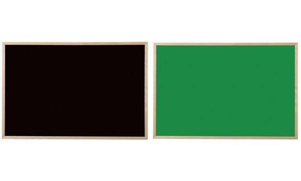 Bi-Office Kreidetafel, Naturholz, schwarz, 600 x 400 mm