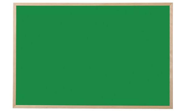 Bi-Office Kreidetafel, Naturholz, grün, 400 x 300 mm