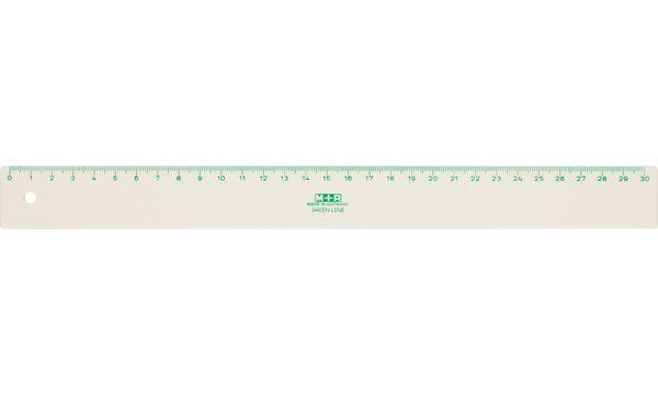 M+R Lineal Green Line, 300 mm, aus Bio-Werkstoff