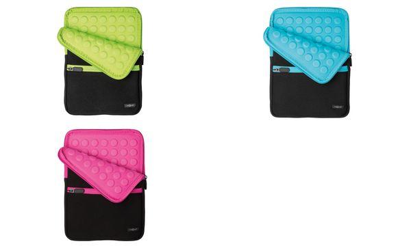 PAGNA Sleeve Go, für Tablet-PC, schwarz / azurblau