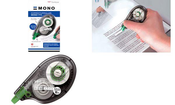 Tombow Korrekturroller MONO CT-YT4, 4,2 mm x 10 m, Bli...