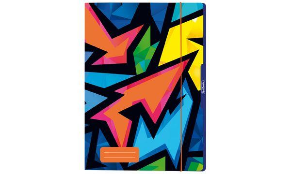 herlitz Zeichnungsmappe Neon Art, DIN A4