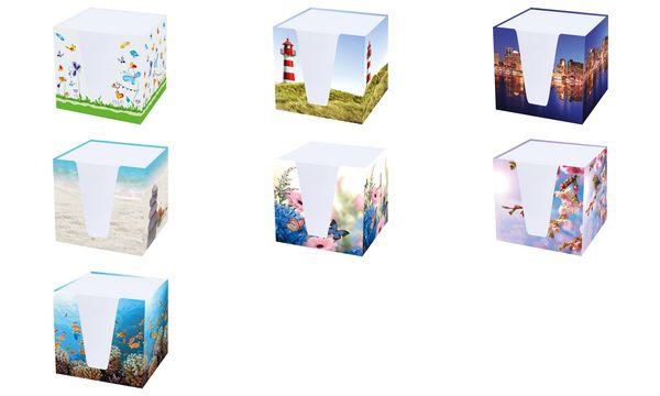 RNK Verlag Zettelbox Unterwasser, Hartkarton, befüllt