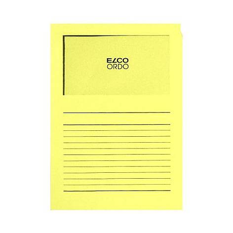 Projektmappe Elco Ordo Classico A4 120g gelb Linienaufdr...