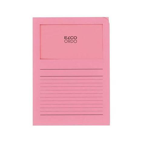 Projektmappe Elco Ordo Classico A4 120g rosa Linienaufdr...