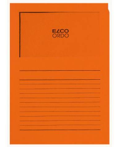 Projektmappe Elco Ordo Classico A4 120g orange Linienauf...